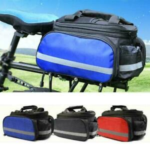 3in1-Bicycle-Bike-Rear-Rack-Seat-Saddle-Bag-Pannier-Trunk-Shoulder-Carry-Handbag