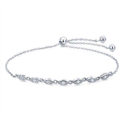 Optional 925 Sterling Silver Charm Bracelet AAA CZ Chain Fashion Women Jewelry
