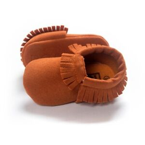 Baby Tassel Soft Sole Leather Shoes