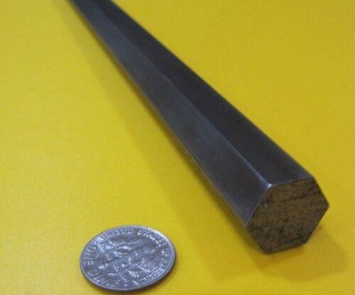 4140//4142 Carbon Steel Hex Rod 15 mm Hex  x 3 Foot Length