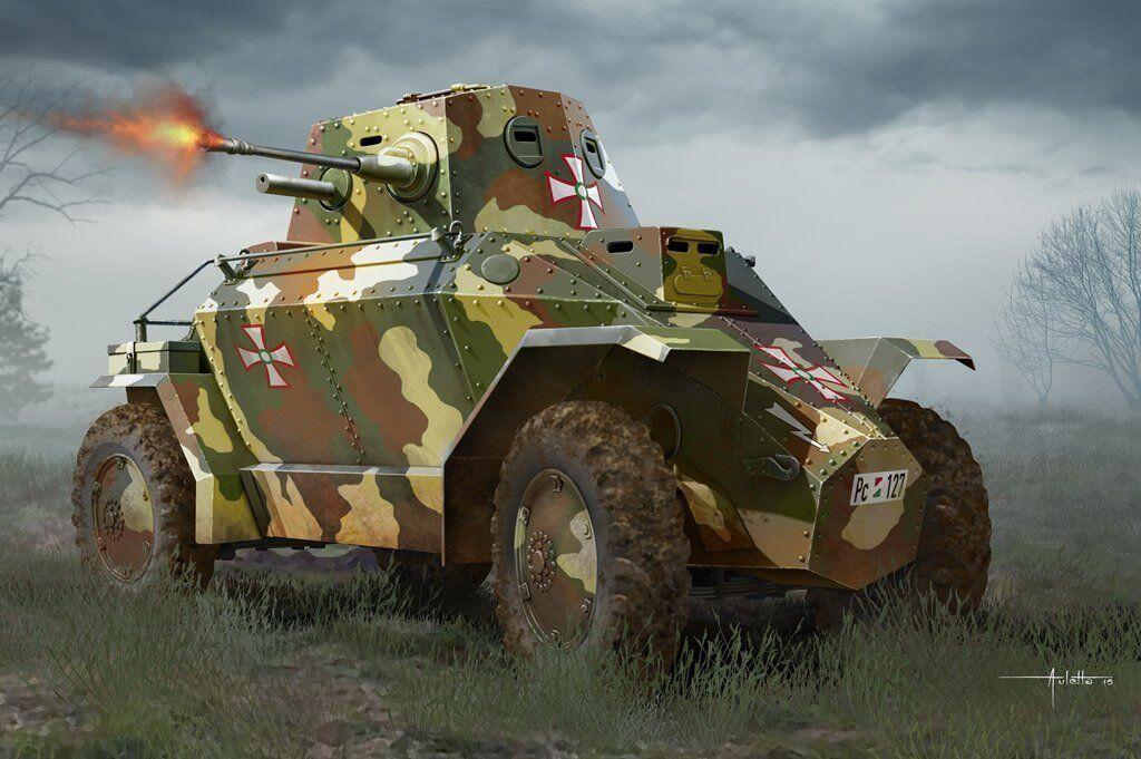 Hobby Boss 1 35 Hungarian 39M CSABA Armored Car
