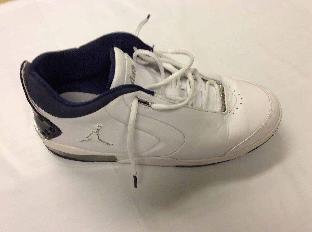 Nike | Jordan Big Fund |  White Silver Navy | Mens 10.5
