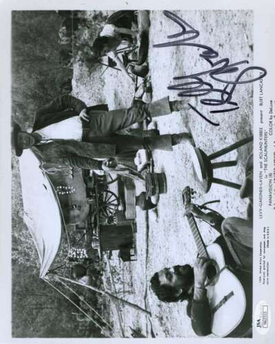 TELLY SAVALAS SIGNED JSA CERTIFIED 8X10 PHOTO AUTHENTICATED AUTOGRAPH