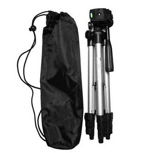 Universal Aluminum Portable Tripod Stand Camera Camcorder w/ Bag for Canon Nikon 786132928671