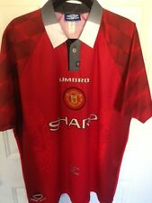 Manchester United Umbro Home Red Jersey Size XL 1996-1998