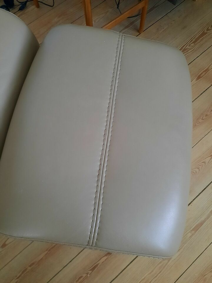 Læderlænestol, læder, Zento