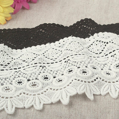 """3.5""""*1yard Ethnic Style Delicate Embroidered Lace Trim For Girl's Clothes DIY"""