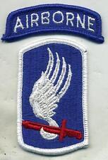 Vietnam Era Army 173rd Airborne Infantry Brigade Color Patch