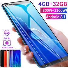 "5.5"" HD SmartPhone 4+32GB Android Unlocked Cheap Mobile Octa Core Dual SIM WiFi"