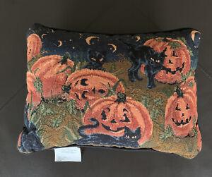Kohl-s-Plumkatz-Decorative-Products-Halloween-Tapestry-Pillow-17x12