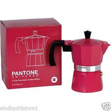 Pantone Espresso Maker 3 Cup Hot Pink