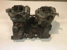 Cadillac Eldorado Dual Quad Intake Manifold Weber Wcfb Carburetors 331365