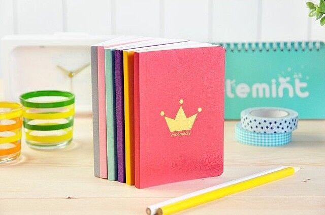 Handy Mini Vocabulary Notepad Diary Book Meno Pad Fresh