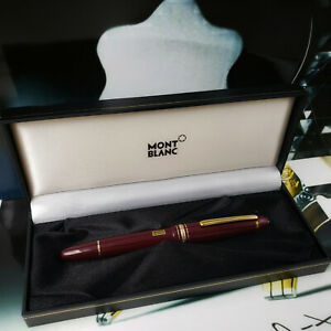 MONTBLANC-MEISTERSTUCK-162-Burgundy-Gold-Legrand-Rollerball-pen
