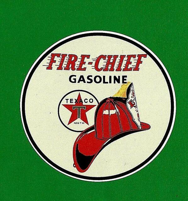 "TEXACO /""PETROL BOWSER PUMP/"" VINYL DECAL STICKER PROMO OIL GAS GARAGE STATION"