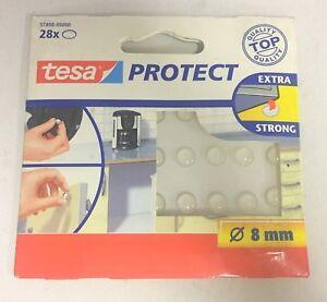 Tesa-adesivi-tondi-trasparenti-28-Pz-evita-lo-scivolamento-di-oggetti-protegge