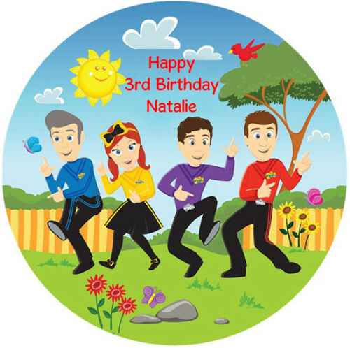 WIGGLE THE WIGGLES EDIBLE WAFER CAKE DECORATION CAKE IMAGE CAKE TOPPER PARTY