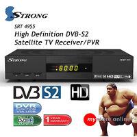 Rai Italia Mpeg4 Hd Dvbs2 Strong Satellite Tv Receiver Pvr Recorder Media Player