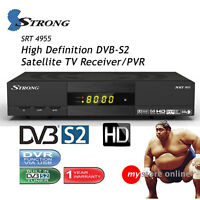 Rai Italia Mpeg4 Hd Dvbs2 Strong Satellite Tv Receiver Pvr Recorder Media Player