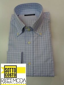 Outlet-75-32-0-Camicia-uomo-shirt-chemise-camisa-hemd-rubashka-3200940031