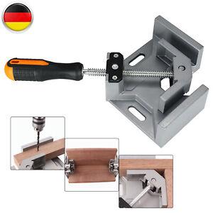 Gehrungszwinge Zwinge Metall Winkelspanner Winkelschraubstock schweißen 90 ° DE