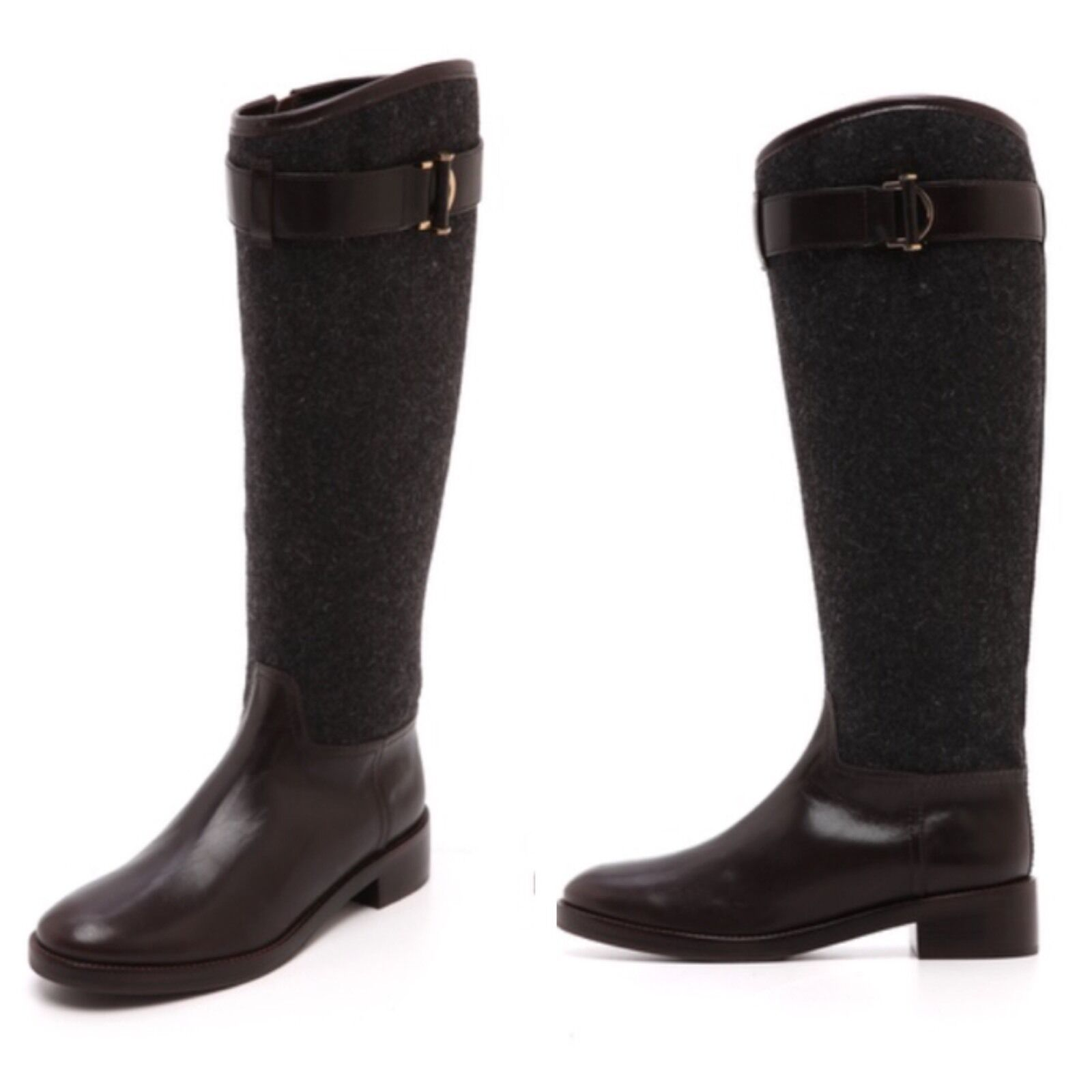 New In Box! Tory Burch Grace Riding Boots - Size 10.5 - Retail  495