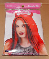 Halloween Character Wig Adult Devil Wig Fun World Elastic Lining 72d