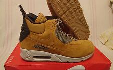 Size 9 Nike Air Max 90 Sneakerboot Winter Waterproof Wheat ACG 684714 700 Mens