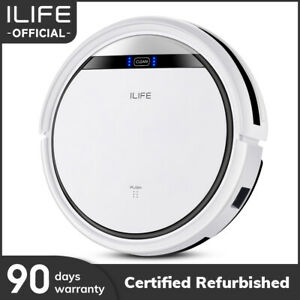 ILIFE V3s Pro Powerful Robotic Vacuum Cleaner For Pet Hair(Refurbished)