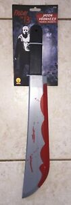 FRIDAY-13TH-JASON-VOORHEES-BLOODY-MACHETE-KNIFE-COSTUME-WEAPON-PROP-RU1170