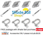 Shade Sail 8mm Installation Accessory Kit 12pcs for Square//Rectangle shade sails