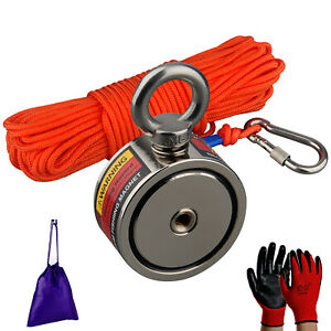 10M Red Fishing Magnets Rope Strong Search Magnets Fishing Pot Fishing Magnet ZP