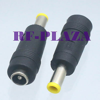 4PCS DC Power 3.5x1.35mm Male to 5.5x2.1mm Female Adapter Connectors In P*CA