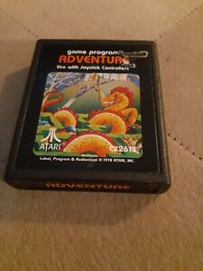 ADVENTURE for ATARI 2600 ▪︎ CARTRIDGE ONLY ▪︎ FREE SHIPPING ▪︎