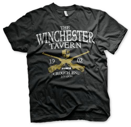 Black Officially Licensed Winchester Tavern Men/'s T-Shirt S-XXL Sizes
