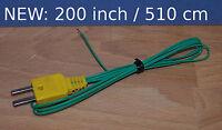 T Type Thermocouple Wire Digital Thermometer Temperature Sensor Probe 200 Tt1