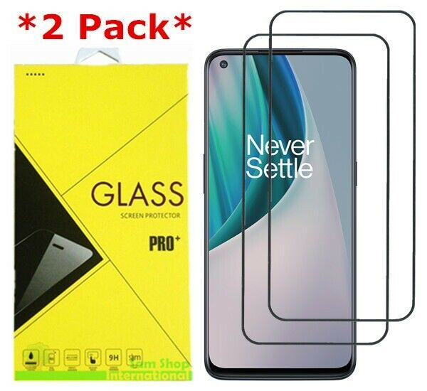 2Pack Premium Real Tempered Glass Screen Protector Guard For OnePlus Nord N10 5G
