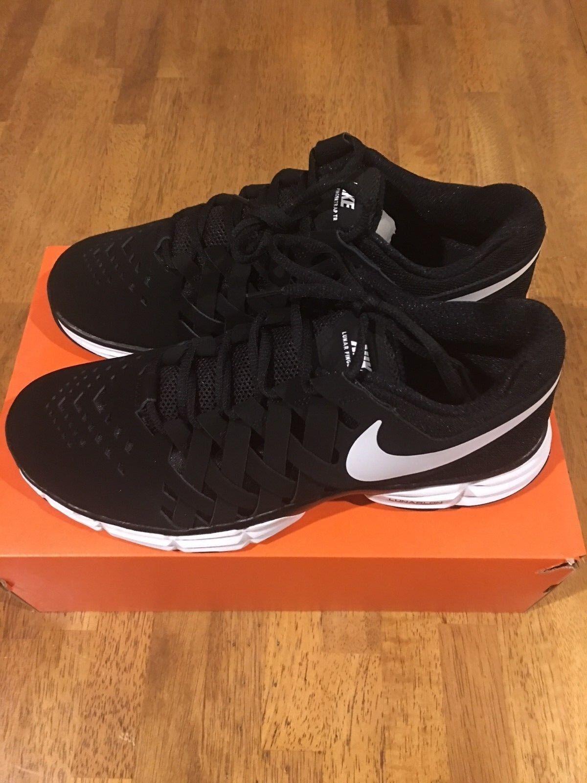 Nike Lunar Fingertrap TR Men's 898066 Shoes Size 10 Black 898066 Men's 001 NEW In Box 3c4fe1
