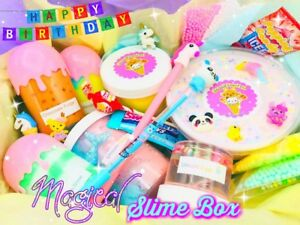 Image Is Loading Nontoxic Magical Experience Scented Unique Birthday Slime Box