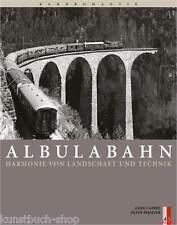 Fachbuch Albulabahn, Harmonie von Landschaft und Technik, REDUZIERT STATT 54,80€