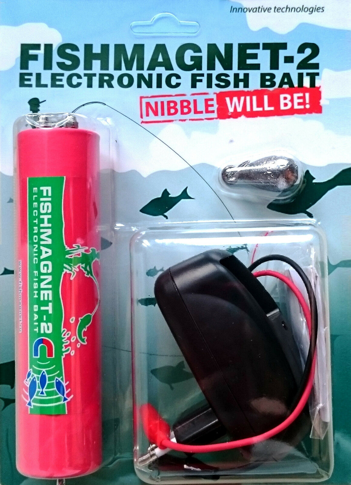 Electronic fish bait Fishmagnet-2 LUX - electronic fish attractor