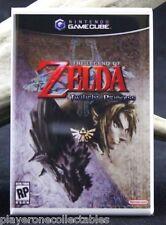 "Zelda Twilight Princess Game Cube Box 2"" X 3"" Fridge Magnet. Nintendo"