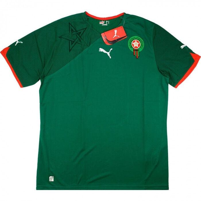 Morocco Home 2010  2011 Shirt  Jersey Dimensione XL