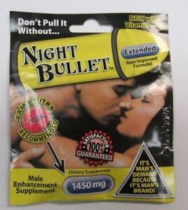 Night-Bullet-5-PACKS-Male-Enhancement-Supplement-Diet-Maximum-B12-1450mg