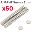 Lot-50x-Mini-Aimants-Neodyme-Neodymium-Magnets-Rond-Fort-Puissant-5mm-X-2mm miniature 1