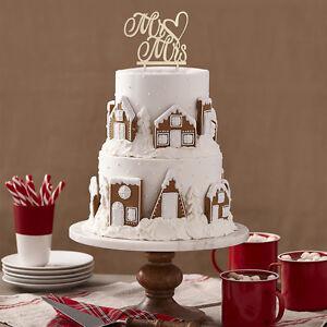 Tortenstecker Hochzeit Personalisiert Cake Topper Holz Mr Mrs