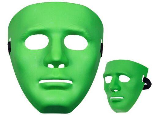 Maschera per Halloween e carnevale in plastica travestimento