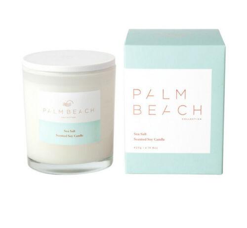 Palm Beach Sea Salt Candle 420g New Arrived