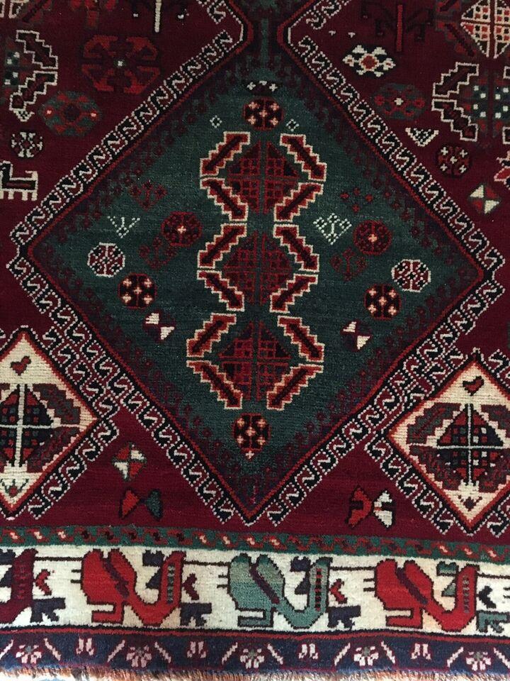 Gulvtæppe, ægte tæppe, b: 152 l: 265