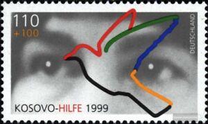 BRD-BR-Deutschland-2045-kompl-Ausg-postfrisch-1999-Kosovohilfe
